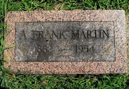 MARTIN, AUGUST F. - Calhoun County, Michigan   AUGUST F. MARTIN - Michigan Gravestone Photos