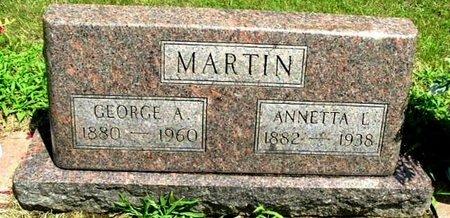 MARTIN, ANNETTA - Calhoun County, Michigan | ANNETTA MARTIN - Michigan Gravestone Photos