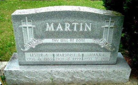 MARTIN, JOANNA L - Calhoun County, Michigan | JOANNA L MARTIN - Michigan Gravestone Photos