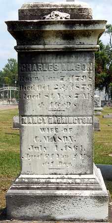 MASON, NANCY - Calhoun County, Michigan | NANCY MASON - Michigan Gravestone Photos