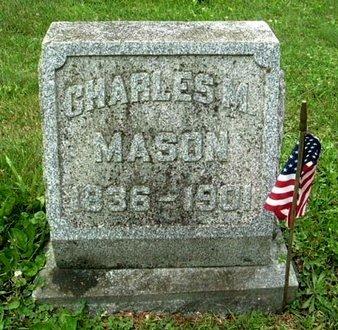 MASON, CHARLES M - Calhoun County, Michigan   CHARLES M MASON - Michigan Gravestone Photos