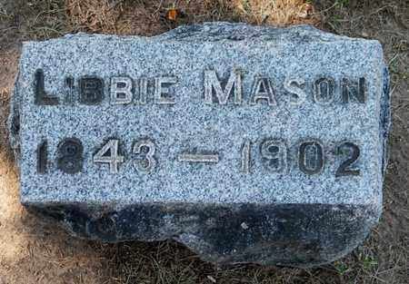 MASON, ELIZABETH - Calhoun County, Michigan | ELIZABETH MASON - Michigan Gravestone Photos