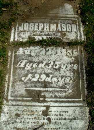 MASON, JOSEPH - Calhoun County, Michigan | JOSEPH MASON - Michigan Gravestone Photos