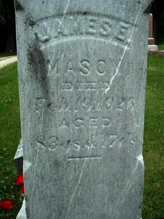 MASON, JAMES E - Calhoun County, Michigan | JAMES E MASON - Michigan Gravestone Photos