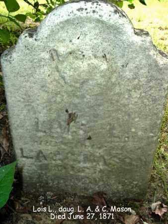 MASON, LOIS - Calhoun County, Michigan   LOIS MASON - Michigan Gravestone Photos