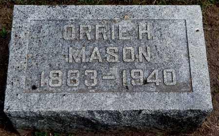 MASON, ORRIE H - Calhoun County, Michigan | ORRIE H MASON - Michigan Gravestone Photos