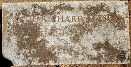 MASON, WADE RICHARD - Calhoun County, Michigan | WADE RICHARD MASON - Michigan Gravestone Photos