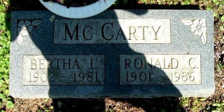 MCCARTY, RONALD C - Calhoun County, Michigan | RONALD C MCCARTY - Michigan Gravestone Photos