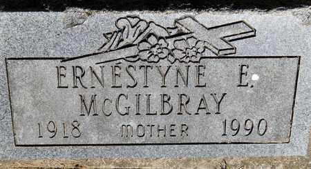 MC GILBRAY, ERNESTYNE - Calhoun County, Michigan | ERNESTYNE MC GILBRAY - Michigan Gravestone Photos