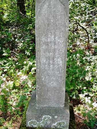 MCDONALD, WILLIAM - Calhoun County, Michigan | WILLIAM MCDONALD - Michigan Gravestone Photos