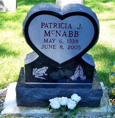 MCNABB, PATRICIA J - Calhoun County, Michigan | PATRICIA J MCNABB - Michigan Gravestone Photos