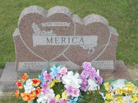MERICA, WALTER L. - Calhoun County, Michigan | WALTER L. MERICA - Michigan Gravestone Photos
