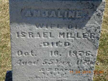 MILLER, ANJALINE - Calhoun County, Michigan   ANJALINE MILLER - Michigan Gravestone Photos