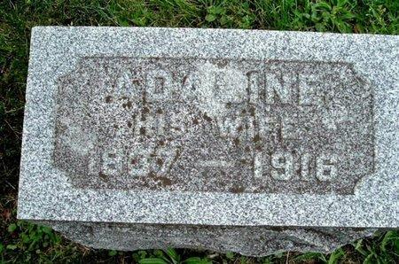 MILLER, ADALINE - Calhoun County, Michigan | ADALINE MILLER - Michigan Gravestone Photos