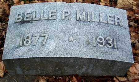 MILLER, BELLE - Calhoun County, Michigan | BELLE MILLER - Michigan Gravestone Photos