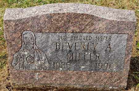 MILLER, BEVERLY A - Calhoun County, Michigan | BEVERLY A MILLER - Michigan Gravestone Photos