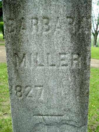 MILLER, BARBARA - Calhoun County, Michigan | BARBARA MILLER - Michigan Gravestone Photos