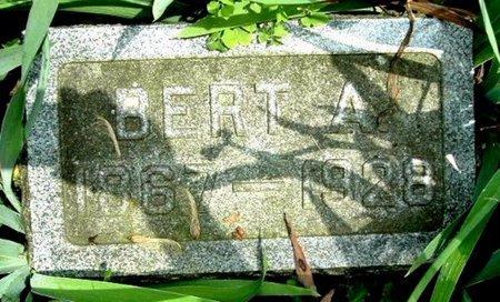 MILLER, BERT A - Calhoun County, Michigan   BERT A MILLER - Michigan Gravestone Photos