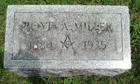 MILLER, BOYD - Calhoun County, Michigan | BOYD MILLER - Michigan Gravestone Photos