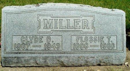 MILLER, FLOSSIE T. - Calhoun County, Michigan | FLOSSIE T. MILLER - Michigan Gravestone Photos