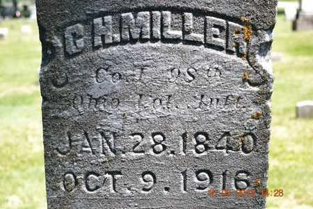 MILLER, C.H. - Calhoun County, Michigan   C.H. MILLER - Michigan Gravestone Photos
