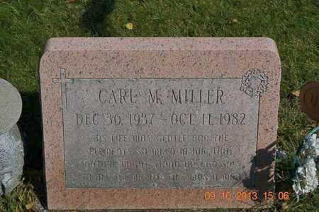 MILLER, CARL M. - Calhoun County, Michigan   CARL M. MILLER - Michigan Gravestone Photos