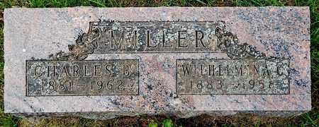 MILLER, CHARLES B - Calhoun County, Michigan | CHARLES B MILLER - Michigan Gravestone Photos