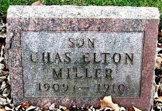 MILLER, CHARLES ELTON - Calhoun County, Michigan | CHARLES ELTON MILLER - Michigan Gravestone Photos
