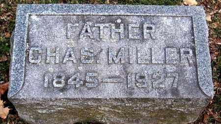MILLER, CHARLES - Calhoun County, Michigan | CHARLES MILLER - Michigan Gravestone Photos