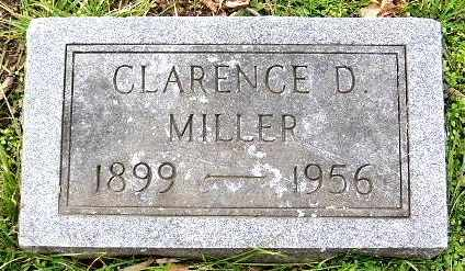 MILLER, CLARENCE D - Calhoun County, Michigan | CLARENCE D MILLER - Michigan Gravestone Photos