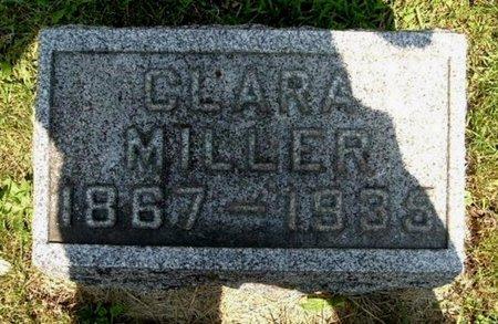 MILLER, CLARA - Calhoun County, Michigan   CLARA MILLER - Michigan Gravestone Photos