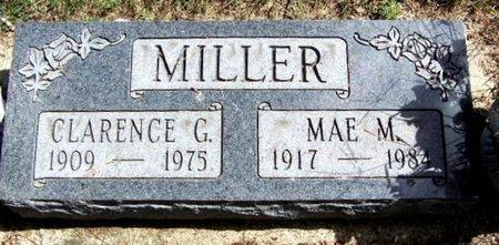 MILLER, CLARENCE G - Calhoun County, Michigan   CLARENCE G MILLER - Michigan Gravestone Photos