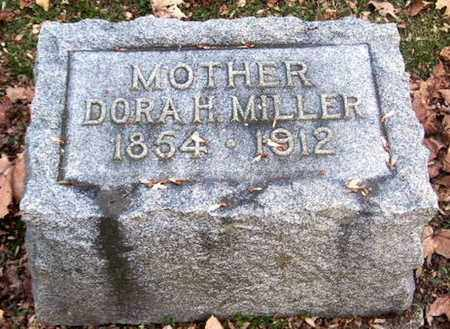 MILLER, DORA H - Calhoun County, Michigan | DORA H MILLER - Michigan Gravestone Photos