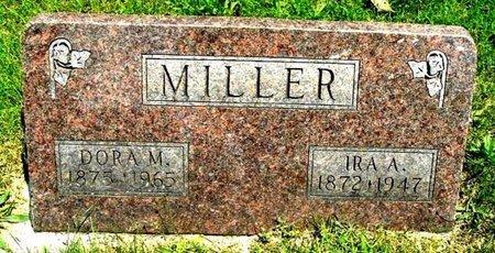 MILLER, DORA M - Calhoun County, Michigan   DORA M MILLER - Michigan Gravestone Photos