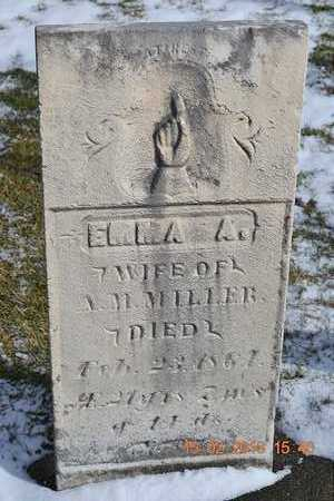 MILLER, EMMA A. - Calhoun County, Michigan | EMMA A. MILLER - Michigan Gravestone Photos