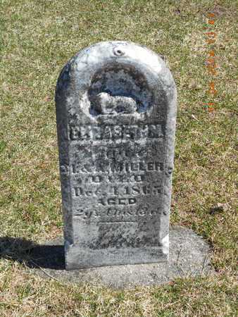 MILLER, ELIZABETH M. - Calhoun County, Michigan | ELIZABETH M. MILLER - Michigan Gravestone Photos
