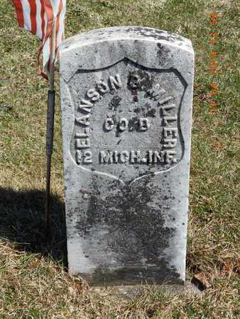 MILLER, ELANSON B. - Calhoun County, Michigan   ELANSON B. MILLER - Michigan Gravestone Photos