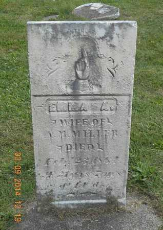 MILLER, EMMA A. - Calhoun County, Michigan   EMMA A. MILLER - Michigan Gravestone Photos
