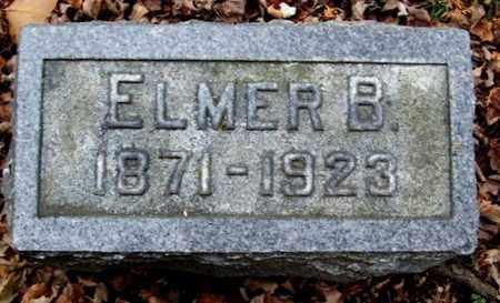 MILLER, ELMER B - Calhoun County, Michigan | ELMER B MILLER - Michigan Gravestone Photos