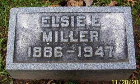 MILLER, ELSIE - Calhoun County, Michigan | ELSIE MILLER - Michigan Gravestone Photos