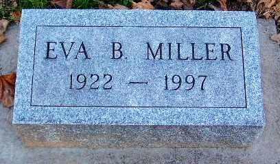 MILLER, EVA BESSIE - Calhoun County, Michigan | EVA BESSIE MILLER - Michigan Gravestone Photos