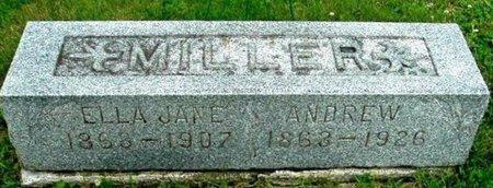 MILLER, ELLA J - Calhoun County, Michigan | ELLA J MILLER - Michigan Gravestone Photos