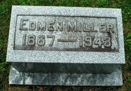 MILLER, EDMEN - Calhoun County, Michigan | EDMEN MILLER - Michigan Gravestone Photos