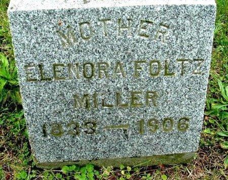 MILLER, ELENORA - Calhoun County, Michigan   ELENORA MILLER - Michigan Gravestone Photos