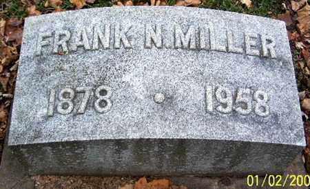 MILLER, FRANK A - Calhoun County, Michigan   FRANK A MILLER - Michigan Gravestone Photos