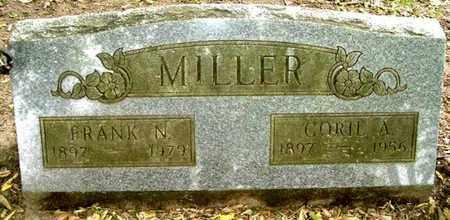 MILLER, FRANK N - Calhoun County, Michigan   FRANK N MILLER - Michigan Gravestone Photos