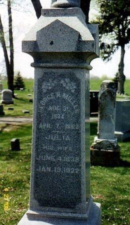 MILLER, GEORGE H. - Calhoun County, Michigan   GEORGE H. MILLER - Michigan Gravestone Photos
