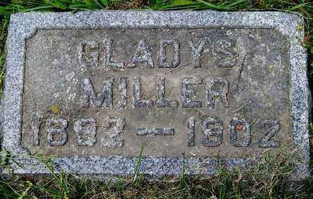 MILLER, GLADYS - Calhoun County, Michigan | GLADYS MILLER - Michigan Gravestone Photos