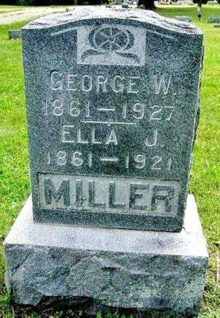MILLER, GEORGE W - Calhoun County, Michigan | GEORGE W MILLER - Michigan Gravestone Photos