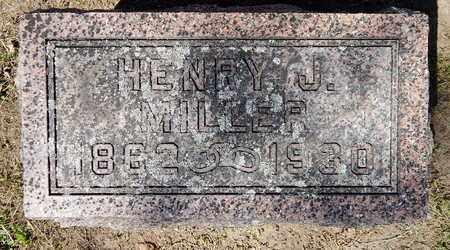 MILLER, HENRY J - Calhoun County, Michigan   HENRY J MILLER - Michigan Gravestone Photos